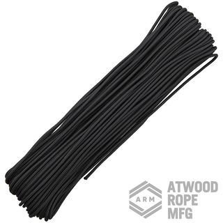 Atwood Rope MFG - Tactical Paracord-Schnur in schwarz,...