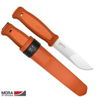 Morakniv Kansbol burnt orange, Gürtelmesser mit...