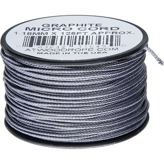 Atwood Rope MFG - Micro Cord Hightech-Schnur in graphite,...