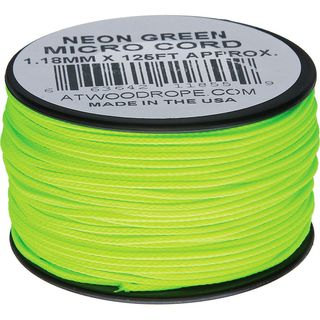 Atwood Rope MFG - Micro Cord Hightech-Schnur in neongrün,...
