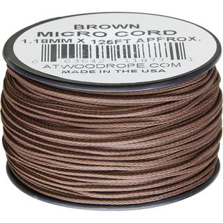 Atwood Rope MFG - Micro Cord Hightech-Schnur in braun,...