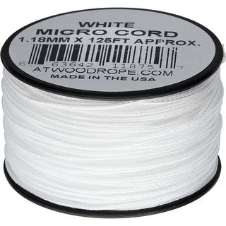 Atwood Rope MFG - Micro Cord Hightech-Schnur in weiß,...