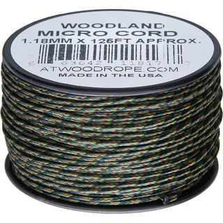 Atwood Rope MFG - Micro Cord Hightech-Schnur in woodland,...